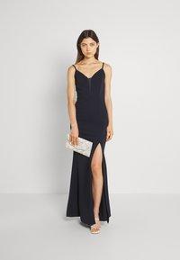WAL G. - YEMMY MAXI DRESS - Společenské šaty - navy blue - 1