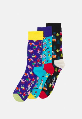 3 PACK SWEDISH EDITION GIFT SET UNISEX - Socks - multi
