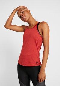 adidas Performance - PERF - Treningsskjorter - red melange - 0