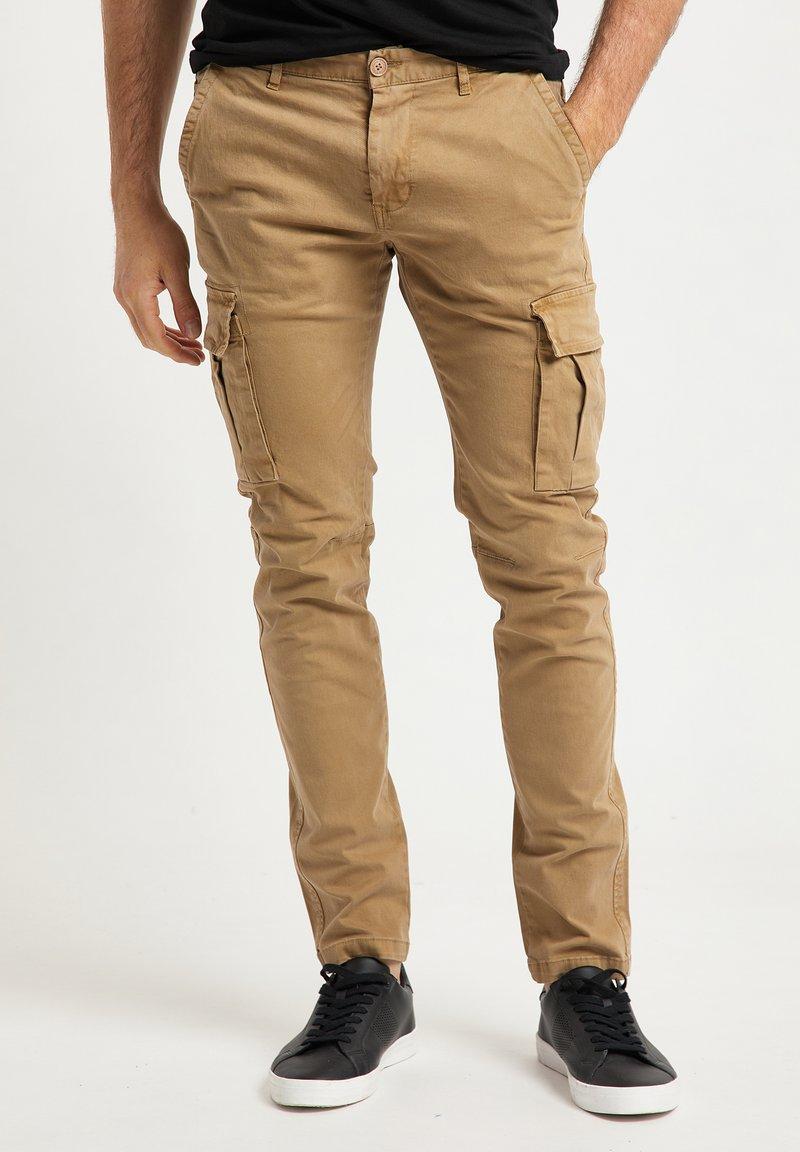 DreiMaster - Pantaloni cargo - beige