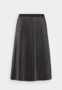 iBlues - DERRIS - A-line skirt - grigio ardesia - 3