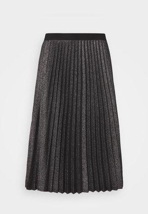 DERRIS - A-line skirt - grigio ardesia