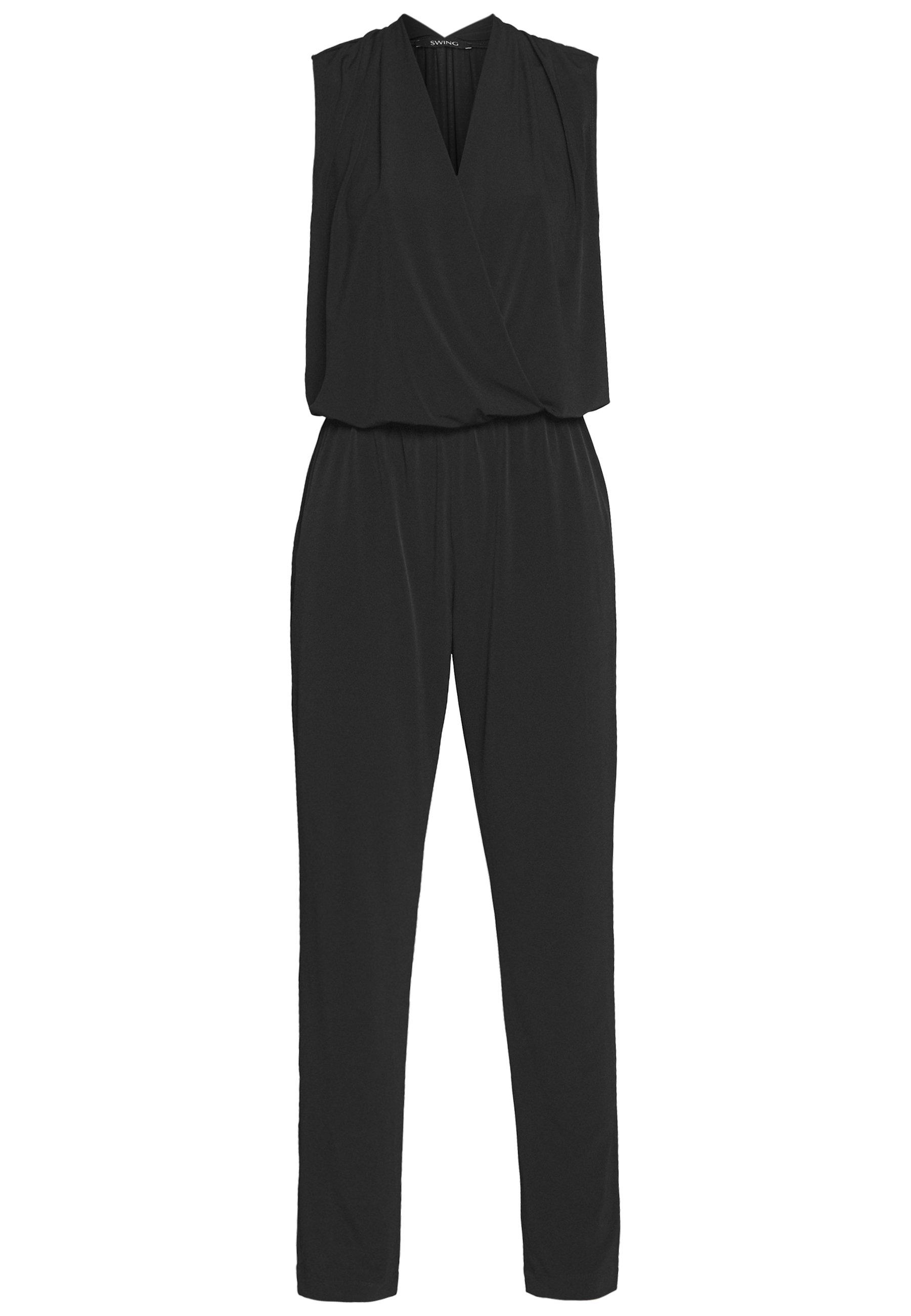 Swing Jumpsuit - schwarz