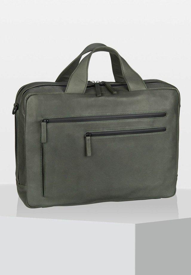 DEN HAAG  - Briefcase - olive