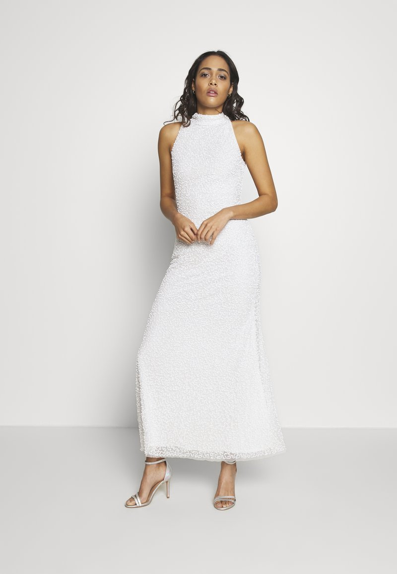 Lace & Beads - NAUTICA MAXI - Occasion wear - white