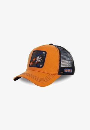 Cap - black orange