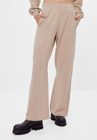 Bershka - Kalhoty - beige - 0