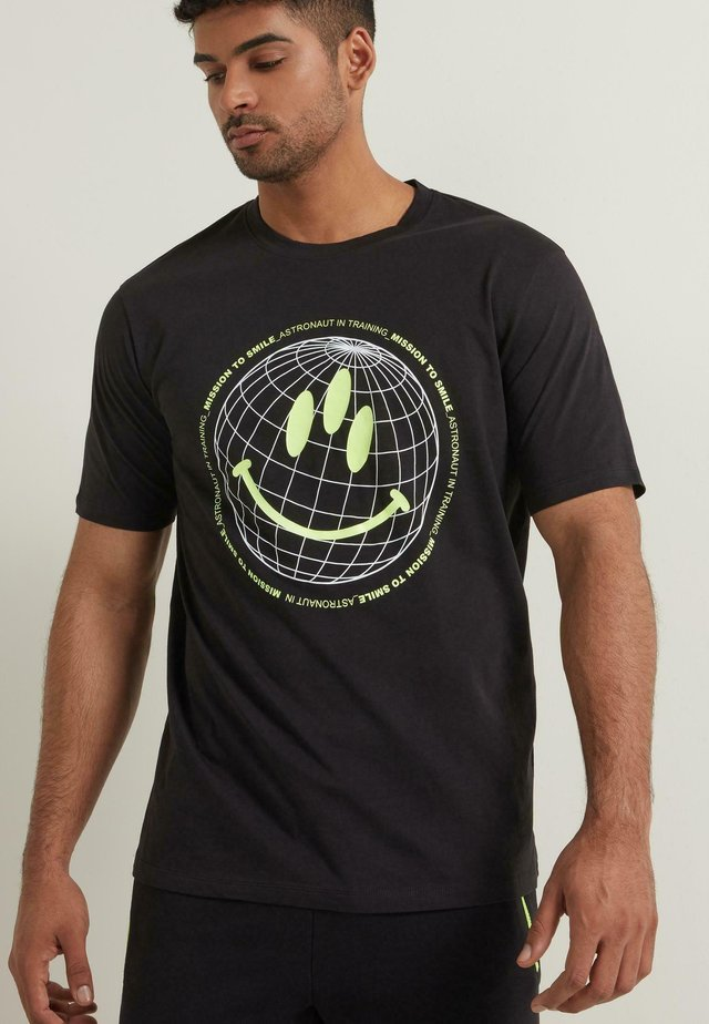 Print T-shirt - nero st.astronaut