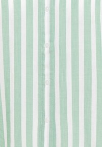 TOM TAILOR - Button-down blouse - green/off-white - 2