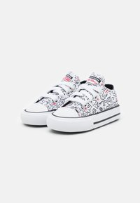 Converse - CHUCK TAYLOR ALL STAR UNISEX - Sneakers laag - white/black/red - 1