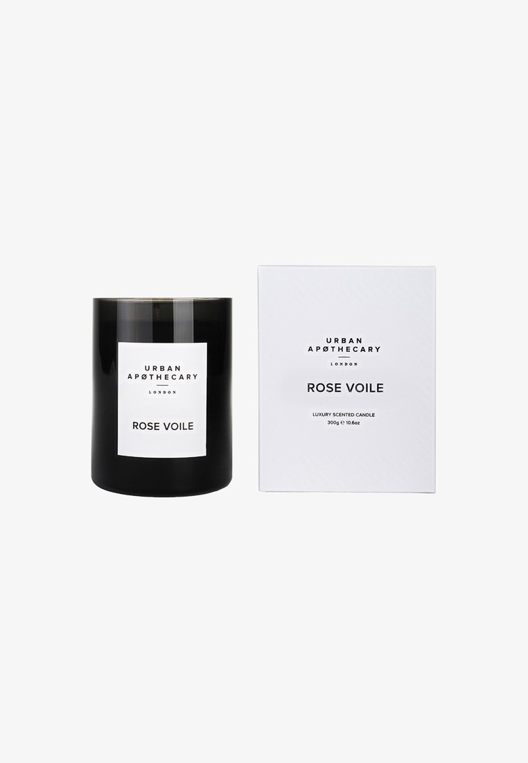 Urban Apothecary - LUXURY BOXED GLASS CANDLE - Scented candle - rose voile