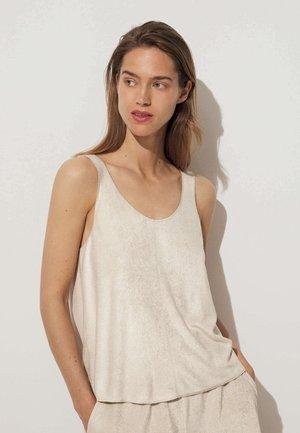 Haut de pyjama - beige