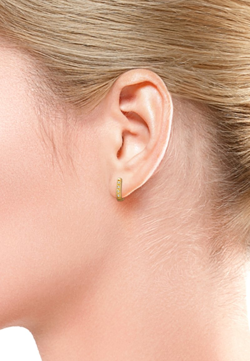DIAMORE - Earrings - gold-coloured