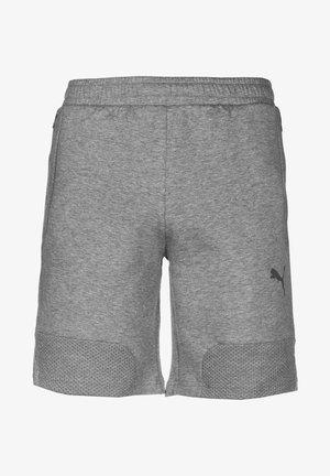 TEAMCUP CASUALS - Korte broeken - medium gray heather