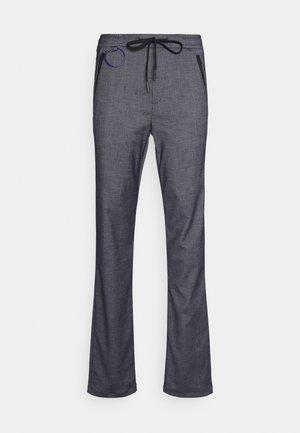 PANTS - Kangashousut - blue-grey
