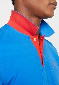 GANT - CONTRAST COLLAR RUGGER - Polo shirt - lake blue - 3