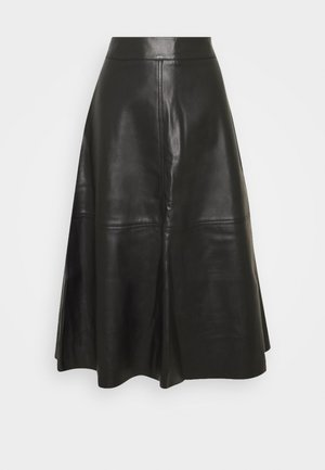 HARLEY - A-line skirt - black