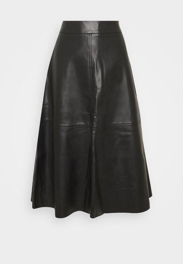 HARLEY - A-line skirt - black