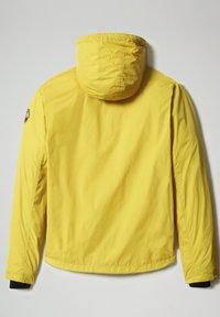 Napapijri - A-CIRCULAR - Outdoor jacket - yellow moss - 8