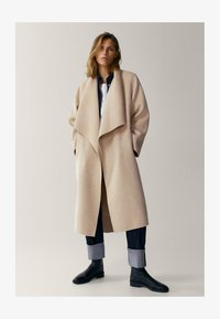 Massimo Dutti - Classic coat - beige - 5