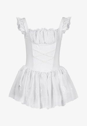 TRÄGER BALLETT TRIKOT MALI - Day dress - weiß