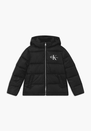 ESSENTIAL PUFFER  - Winterjas - black