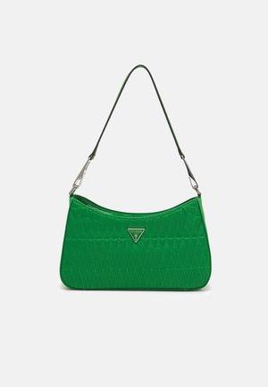 LAYLA TOP ZIP SHOULDER - Handtas - green