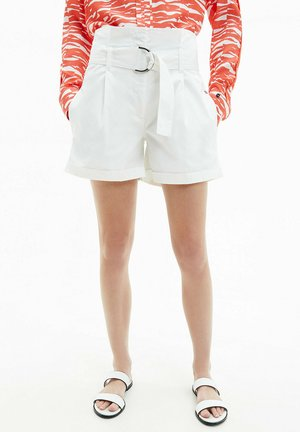 PAPERBAG - Shorts - bright white