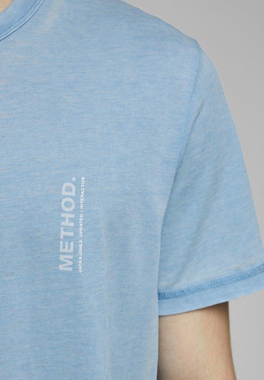 Jack & Jones Print T-shirt - dusk blue WFWGJ