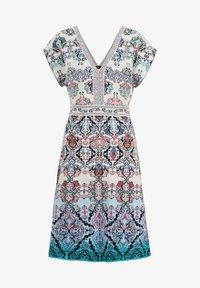 Ivko - JACQUARD DRESS, - Day dress - blue/beige - 5