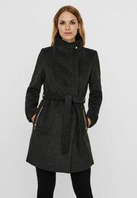 Vero Moda - Trenchcoat - dark grey melange - 0