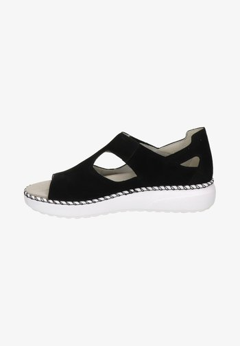 Walking sandals - zwart