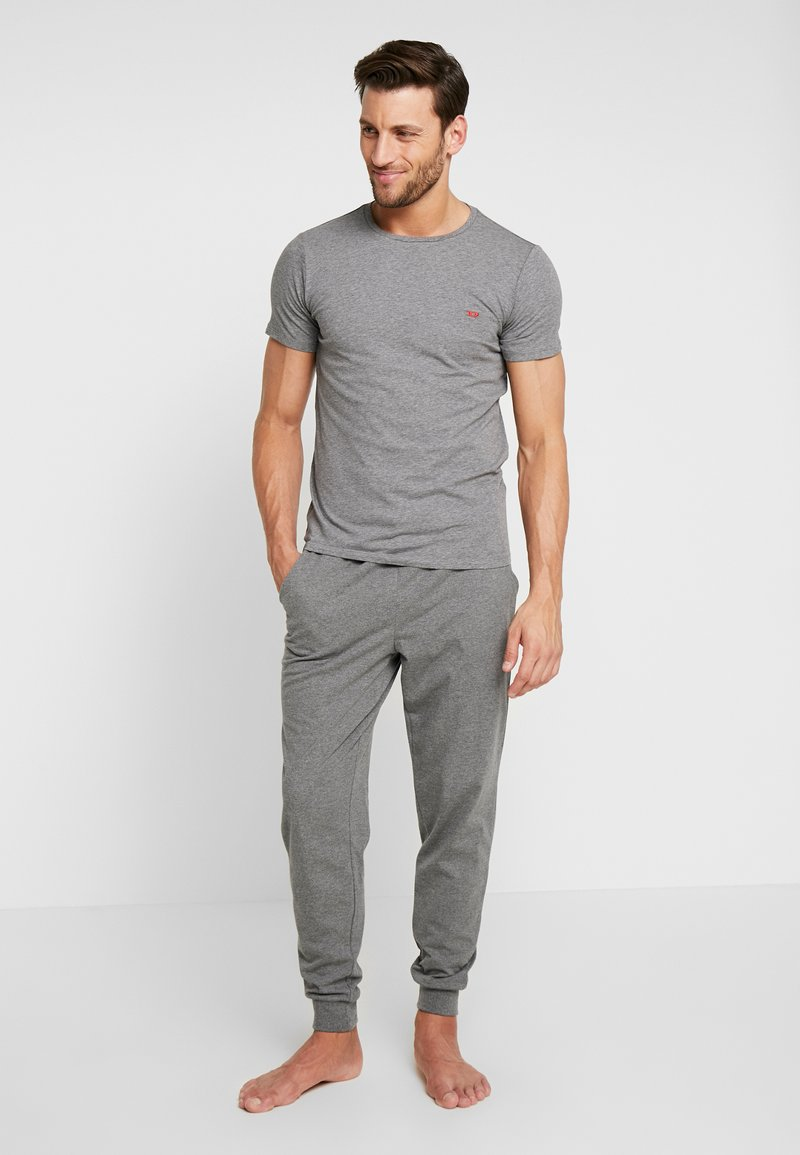Diesel - 3 PACK - Pyjama top - grey/black/white
