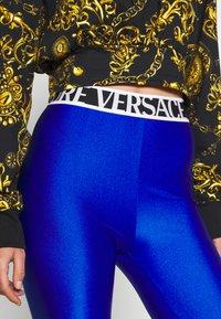Versace Jeans Couture - PANTS - Leggings - Trousers - blue - 3