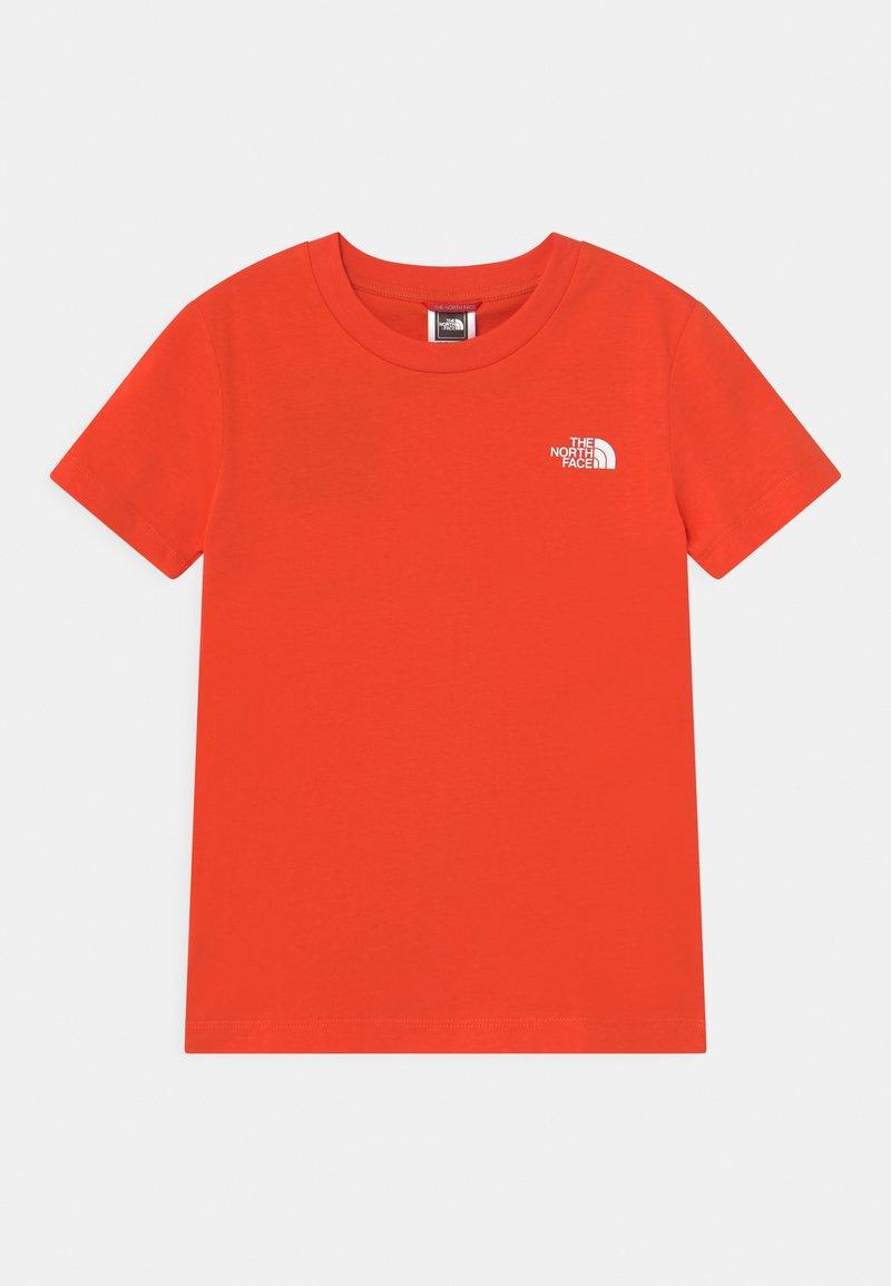 The North Face - EXPLORE UNISEX - Print T-shirt - flare/white/black
