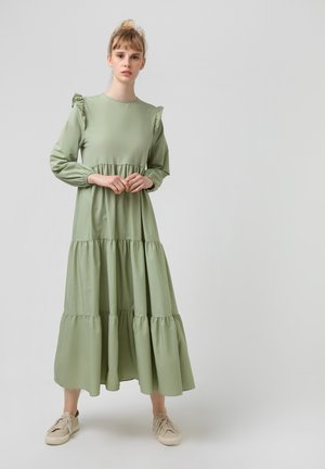 RUFFLED  - Day dress - green
