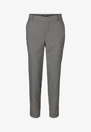 HOSE VMMAYA NORMAL WAIST - Trousers - grey