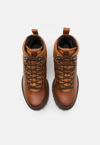 ECCO - TREDTRAY - Lace-up ankle boots - amber - 7