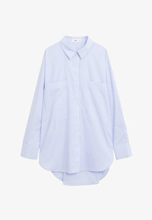 WILLY - Button-down blouse - blau