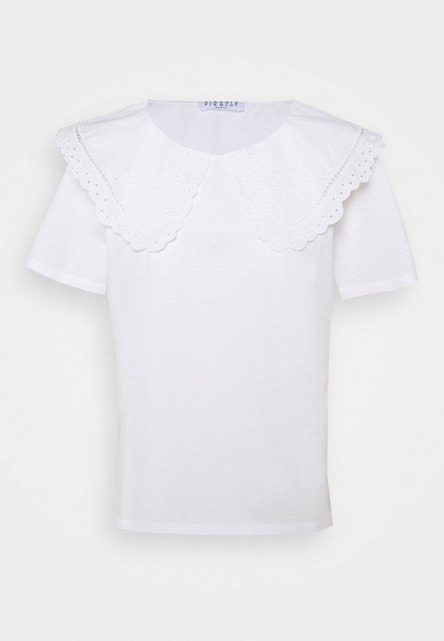 TREFLE - T-shirts print - ecru