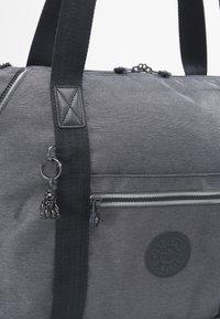 Kipling - ART M - Tote bag - charcoal - 5