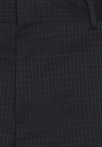 Calvin Klein Tailored - TONAL GRID CHECK EXTRAFINE SUIT - Oblek - navy - 9