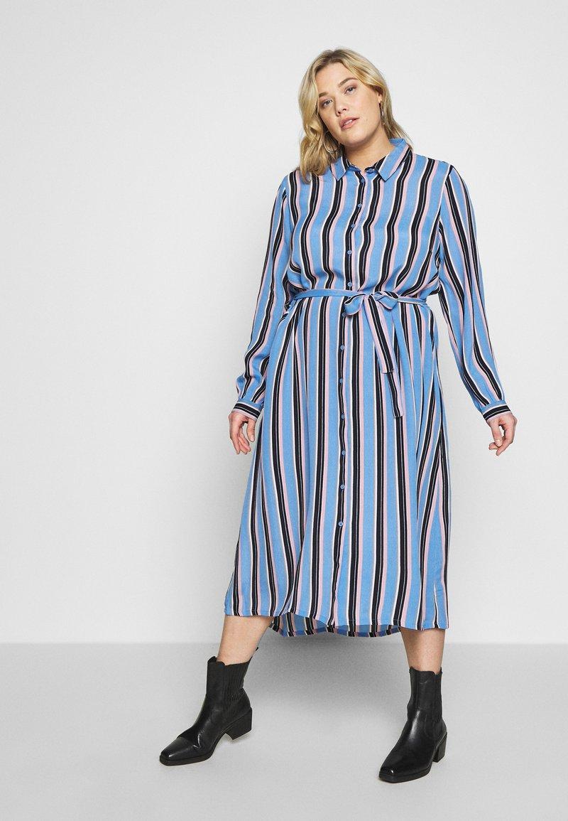 Kaffe Curve - DOLINE DRESS - Robe chemise - provence