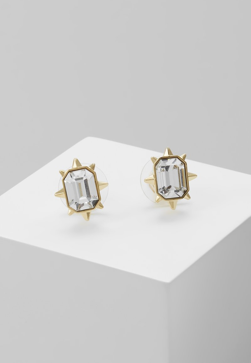 Swarovski - TAROT MAGIC STUD CUSHION - Earrings - gold-coloured
