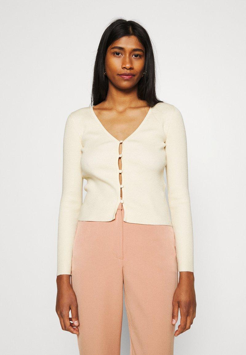Fashion Union - CALICO CARDI - Cardigan - off white