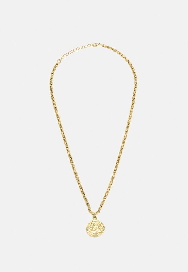 PEACE OUT UNISEX - Necklace - gold-coloured