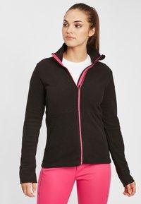 O'Neill - CLIME - Fleece jacket - black out - 0
