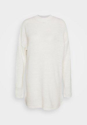 HIGH NECK DRESS - Jumper dress - off white