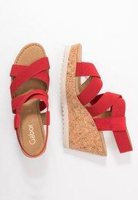Gabor - High heeled sandals - flame - 3