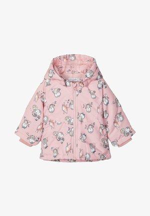 Winter jacket - coral blush